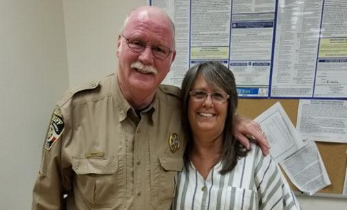 Hooks celebrates 40 years in law enforcement