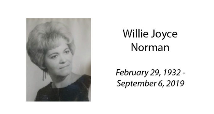 Willie Joyce Norman