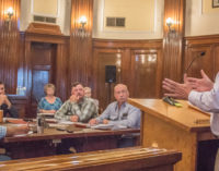 County Commissioners extend burn ban, postpone decision on new boiler for courthouse