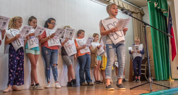 Fifth grade play celebrates Constitution Week