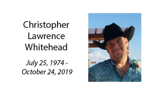Christopher Lawrence Whitehead