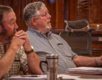 County Commissioner Ed Russell will not seek re-election; homecoming bon fire canceled due to burn ban