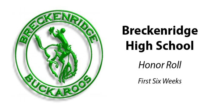 BHS announces honor roll, perfect attendance for first six weeks