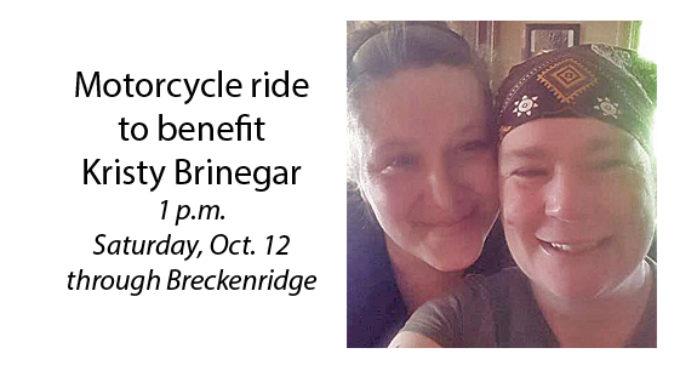 Motorcycle ride organized to fulfill last wish of Kristy Smith Brinegar