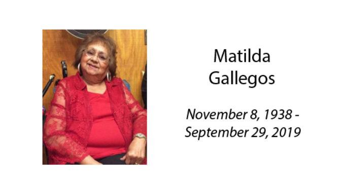 Matilda Gallegos