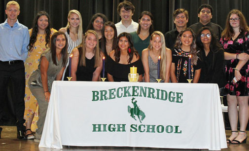 BHS inducts newest members into National Honor Society