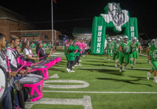 Breckenridge sports pink at Jim Ned game for Breast Cancer Awareness