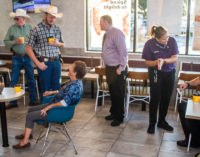 Local McDonald's hosts Coffee with a Cop community event