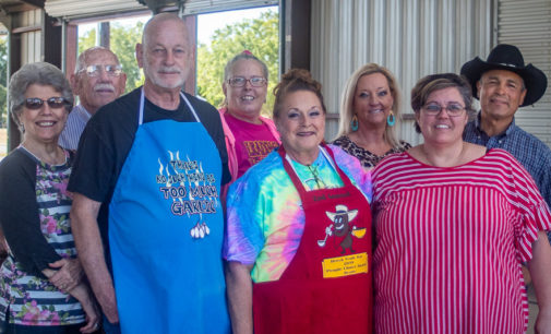 Leslie Harrison sweeps Cornbread and Beans Cook-off