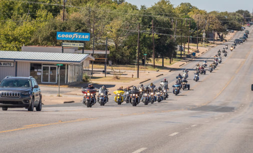 Motorcyclists participate in memorial ride for Kristy