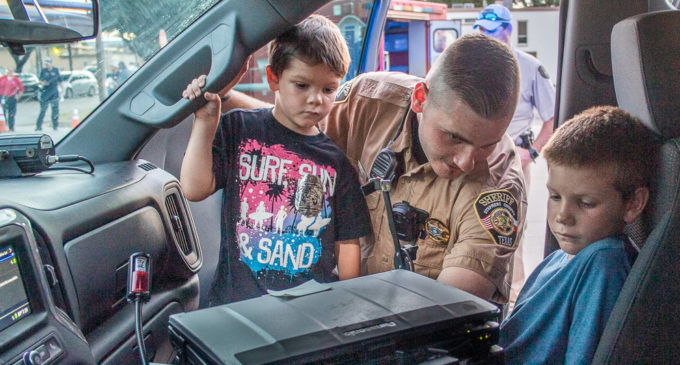 Breckenridge community celebrates eighth annual National Night Out