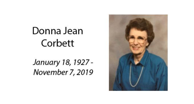 Donna Jean Corbett