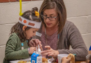 Thanksgiving lunch at East Elementary 2019