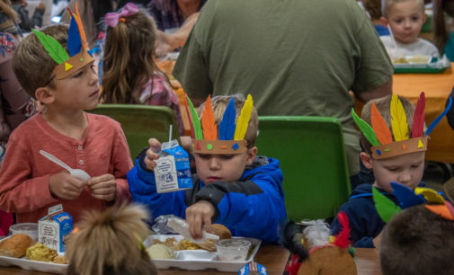 Breckenridge schools host Thanksgiving lunches for students and families