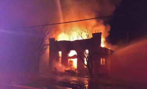 Early morning fire destroys 90-year-old former synagogue