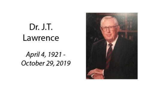 Dr. J.T. Lawrence