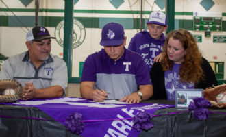 Escalon signs with Tarleton State University to play baseball