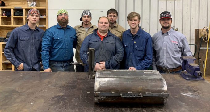 TSTC welding students bring the heat for Chamber banquet