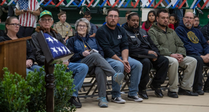 BISD honors veterans with annual ceremony