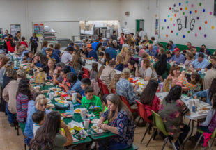 Thanksgiving lunch at South Elementary