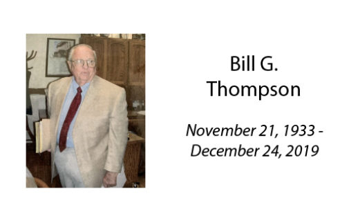 Bill G. Thompson