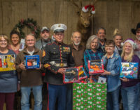 Elks, Jonell donate toys to local Toys for Tots