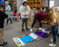 South Elementary Library turns into arcade as part of MakerSpace project