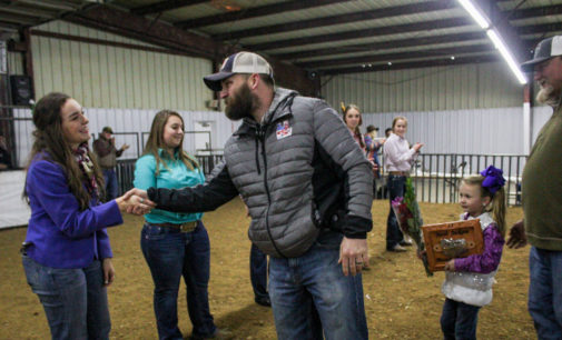Stephens County Junior Livestock Show wraps up with Showman award, buckle presentation