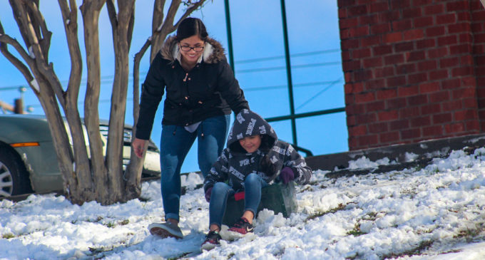 After Saturday's snowfall, warm-up expected for Sunday