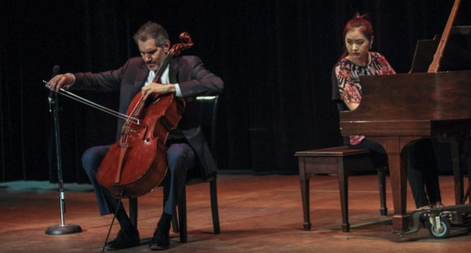 Piatigorsky Foundation artists perform for local students at National Theatre