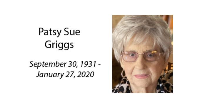 Patsy Sue Griggs