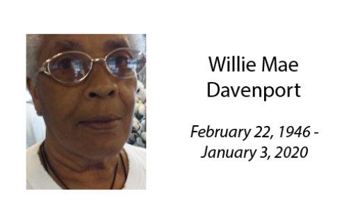 Willie Mae Davenport
