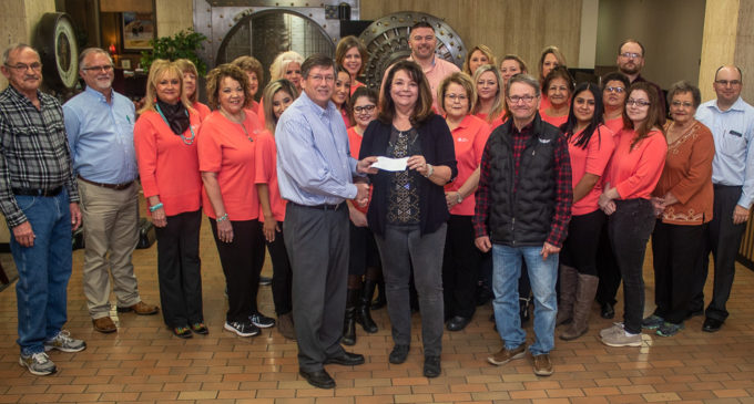 First National Bank reaches 100 percent participation in United Fund donations