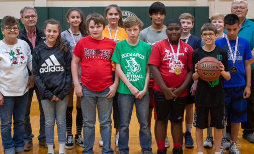 Two Breckenridge students advance to state Elks Hoop Shoot contest