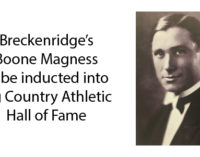 Breckenridge's Boone Magness to be inducted into Big Country Athletic Hall of Fame