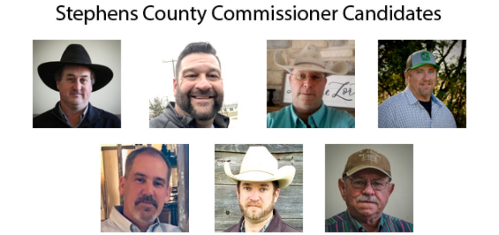 Candidate Profiles: County Commissioner, Precinct 1