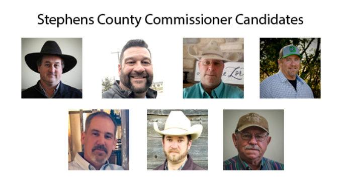 Candidate Profiles: County Commissioner, Precinct 1