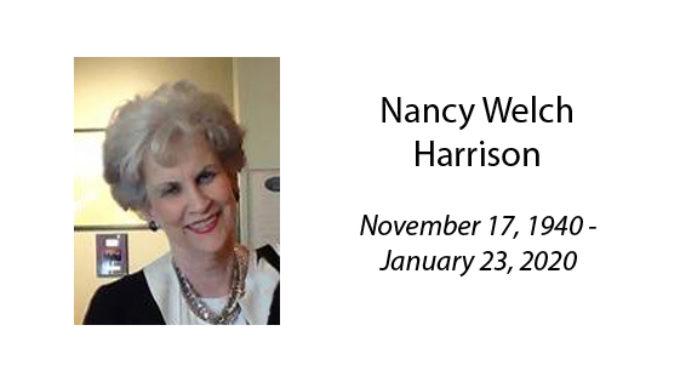 Nancy Welch Harrison