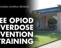 Stephens Memorial Hospital to host free opioid overdose prevention training
