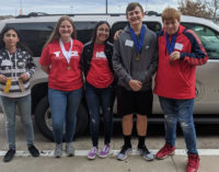 Breckenridge students earn medals at engineering contest