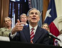 Gov. Greg Abbott orders Texans to avoid groups of 10; closes bars, gyms and restaurants for dine-in