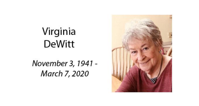 Virginia DeWitt