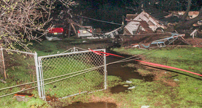 Tornado hits South Bend, destroys homes, causes injuries