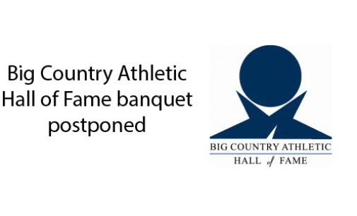 Big Country Athletic Hall of Fame banquet rescheduled for August