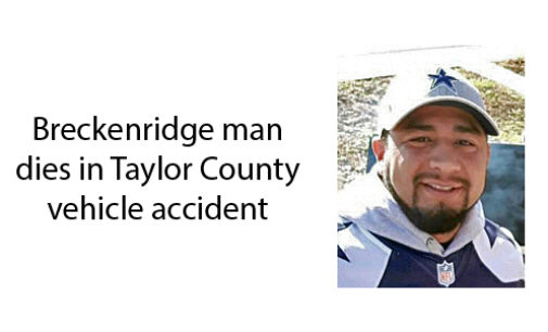 One Breckenridge man dies in Taylor County wreck, another seriously injured