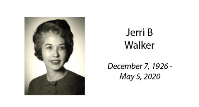 Jerri B Walker