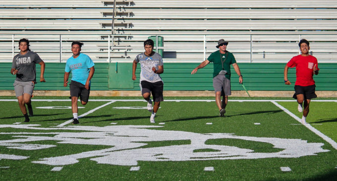 Coach Pearce, Buckaroos welcome UIL announcement, get ready for football, volleyball