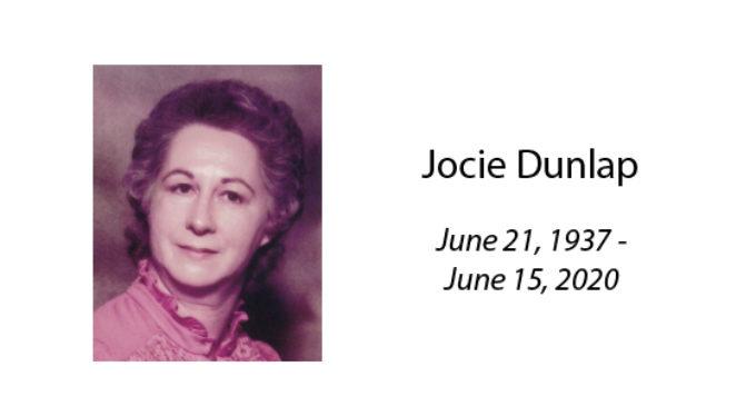 Jocie Dunlap