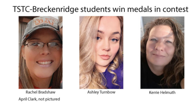 TSTC-Breckenridge students earn medals in virtual contest