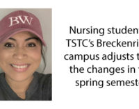 TSTC Vocational Nursing student adapts to new learning environment